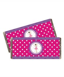 Prettyurparty Ballerina Chocolate Wrappers- Pink