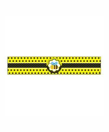 Prettyurparty Bumble Bee Wrist Bands - Black and Yellow