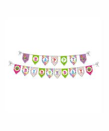 Prettyurparty Candy Shoppe Bunting- Multi color