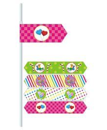 Prettyurparty Candy Shoppe Drink Straws- Multi color