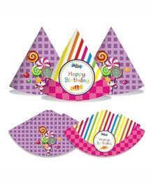 Prettyurparty Candy Shoppe Hats- Multi Color