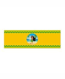 Prettyurparty Hawaiin Wrist Bands - Yellow