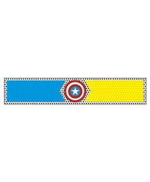 Prettyurparty Superhero Wrist Bands - Yellow and Blue