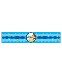 Prettyurparty Under the Sea Wrist Bands - Blue