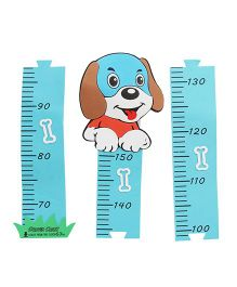 Height Measuring Chart - Aqua Blue
