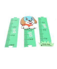 Height Measuring Chart - Green
