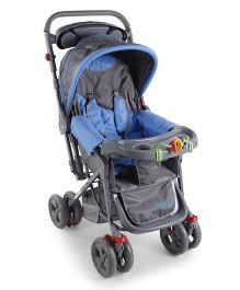 Babyhug Elite Stroller - Sky Blue