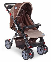 Babyhug Vogue Stroller - Brown