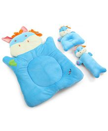 1st Step Animal Shaped Bed Set - Blue