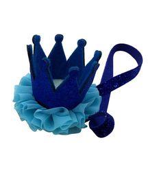 Little Cuddle Crown Headband - Blue