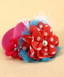 Little Cuddle Mini Hat Headband - Dark Pink