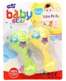 Lollipop Baby Rattles - Pack Of 2