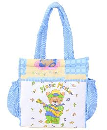 Duck Mother Bag Animal And Car Print - Blue