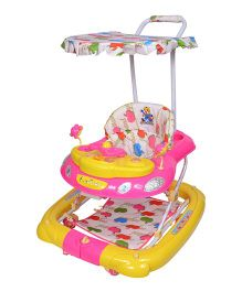 Funride Snoopy 7 In 1 Deluxe Walker - Pink