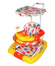 Funride Snoopy 7-in-1 Deluxe Walker - Red And Yellow