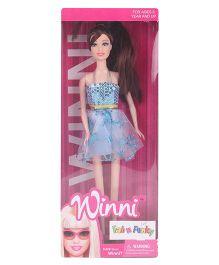 Fab N Funky Winni Fashion Doll Blue - Height 29 cm