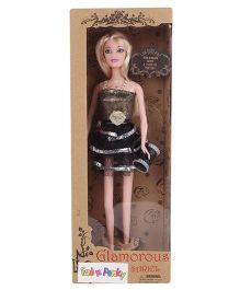 Fab N Funky Glamorous Sariel Doll - Black