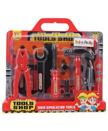 Fab N Funky Baby Tool Set - Red
