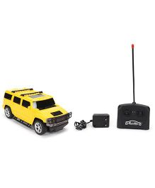Remote Controlled Toy Car - Yellow