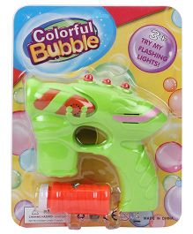 Fun Bubble Gun - Green
