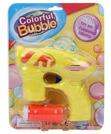 Fun Bubble Gun - Yellow