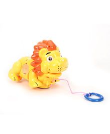 Lion Shape Baby Musical Toy - Yellow