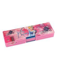 Disney Princess Pencil Box - Light Pink