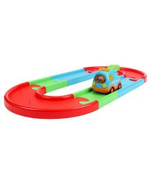 Car And Play Track Set - Blue And Red