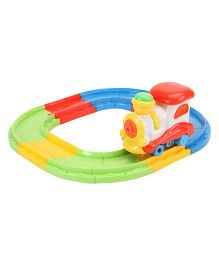 Musical Train Track Toy - White And Red