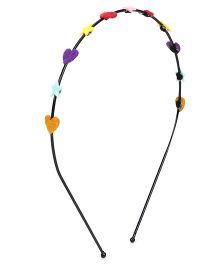 Chotee Star & Heart Hairband - Multicolour