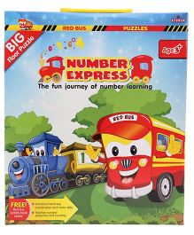 Zephyr Red Bus Number Express Puzzle
