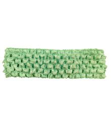 AkinosKIDS Crochet Knitted Headband - Green