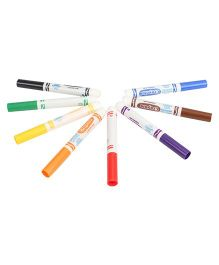 Crayola Ultra Clean Washable Markers - Pack Of 8