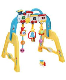 Infant Play Gym - Yellow And Blue