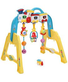 Infant Play Gym - Yellow Blue And Red