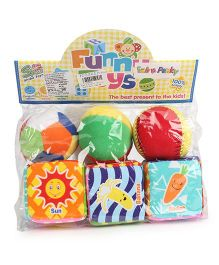 Fun Baby Balls And Cubes - Set of 6 Items