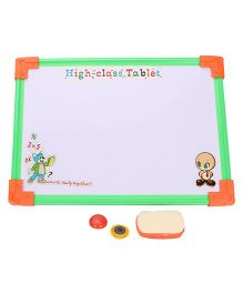 Tablet Drawing Board - White And Green