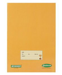 Sundaram Winner Single Line Long Notebook Brown - 172 Pages