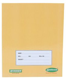 Sundaram Winner Single Line Practical Book - 76 Pages