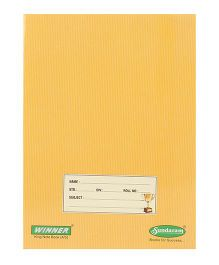 Sundaram Winner Four Line Small Note Book - 172 Pages