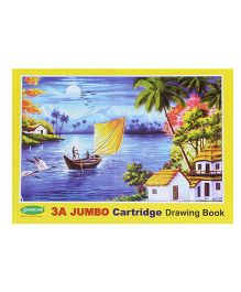 Sundaram Drawing Book Yellow - 36 Pages