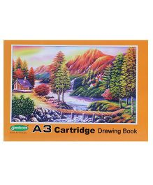 Sundaram Drawing Book Scenery Cover - 36 Pages