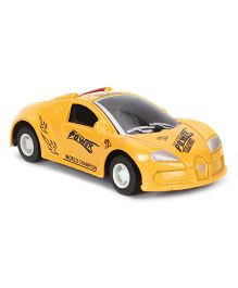 Exquisite Model Car Toy - Yellow