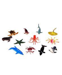 A2B Ocean Animal Plastic Toys - Multi Color