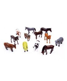 A2B Farm Animal Plastic Toys - Multi Color