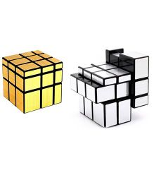 A2B Magic Mirror Cube - Silver and Golden