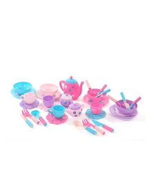 Pretend Play Baby Tea Set - Pink And Blue