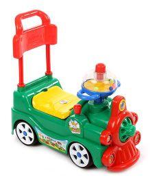 Kids Zone Funny Loco Ride On - Green