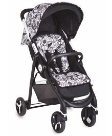Graco Metro Cruise Stroller - Black & White