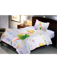 Uber Urban Disney Fairies Single Microfiber Bedsheet And Pillow Cover